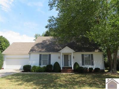 Murray Single Family Home Contract Recd - See Rmrks: 1003 Perrin Drive