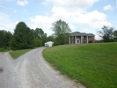 Paducah Single Family Home For Sale: 6725 Old Hwy 60