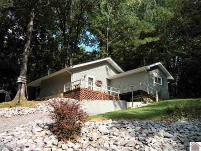 Trigg County Single Family Home Contract Recd - See Rmrks: 548 Bayview Dr
