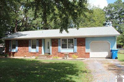 Murray Single Family Home For Sale: 1503 Danbury Rd