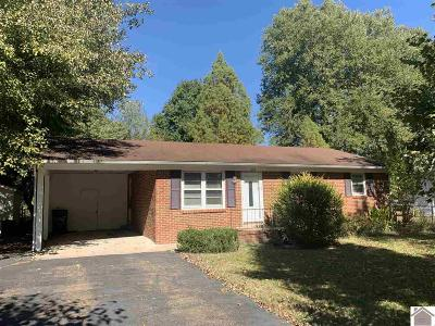 Murray Single Family Home For Sale: 1608 Belmont Drive