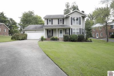 Paducah Single Family Home Contract Recd - See Rmrks: 240 Charlotte Ann