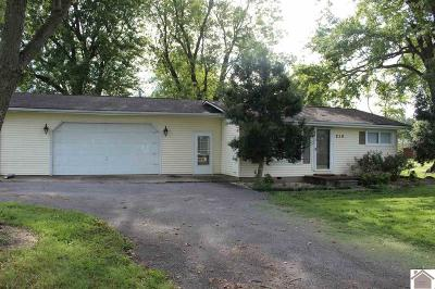 McCracken County Single Family Home For Sale: 810 Bryant Ford Road