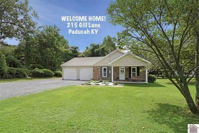 McCracken County Single Family Home Contract Recd - See Rmrks: 215 Gill Lane