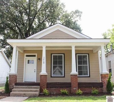 McCracken County Single Family Home For Sale: 1410 Monroe St.