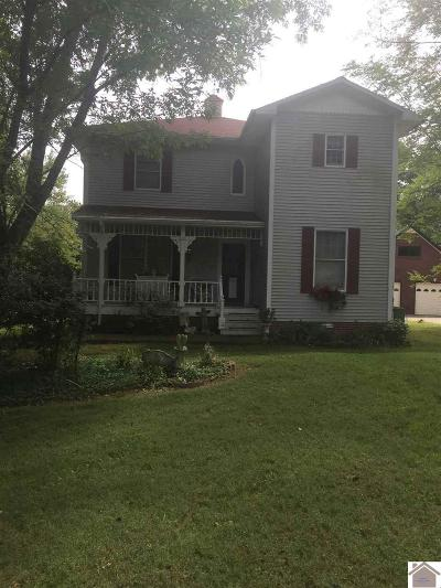 Livingston County, Lyon County, Trigg County Single Family Home For Sale: 428 Backstrom Hts