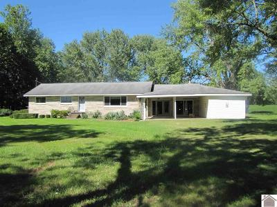 McCracken County Single Family Home For Sale: 5925 Cunningham Road