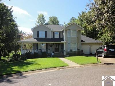 Graves County Single Family Home For Sale: 1334 Cherry Drive