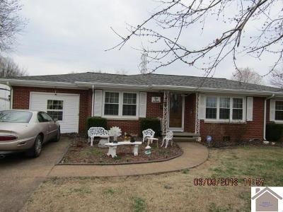 McCracken County Single Family Home Contract Recd - See Rmrks: 3117 Alpha Drive