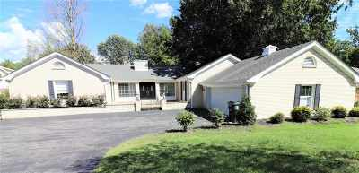 Paducah Single Family Home For Sale: 1100 Hedge Lane