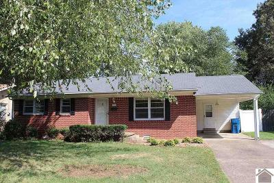 Calloway County Single Family Home For Sale: 1656 Ryan Avenue