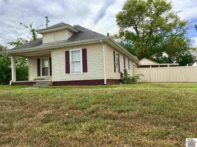 Hopkinsville Single Family Home For Sale: 1015 N Main St.