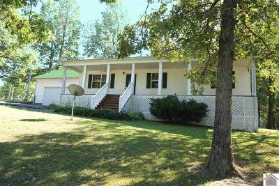 Grand Rivers KY Single Family Home For Sale: $158,900