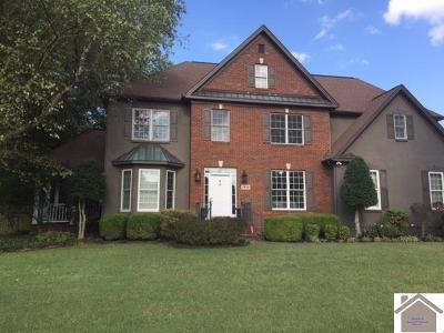 Paducah Single Family Home For Sale: 1216 Winslow Way