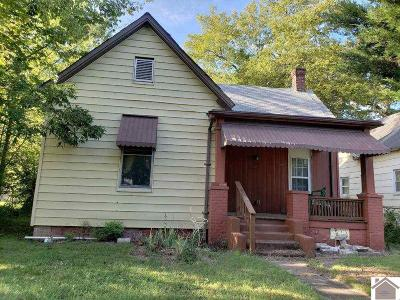 Paducah Single Family Home For Sale: 1745 Harrison St