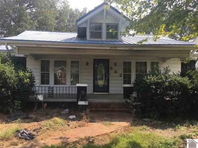 Paducah Single Family Home For Sale: 962 Husband Road