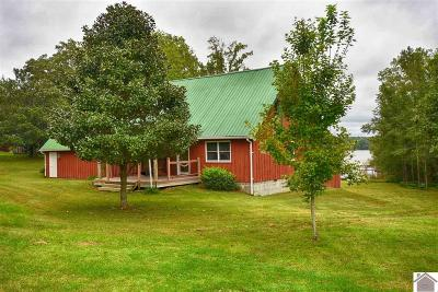 Calloway County, Marshall County Single Family Home For Sale: 100 Trout Dr