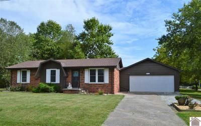 Calloway County Single Family Home For Sale: 1215 Melrose Drive