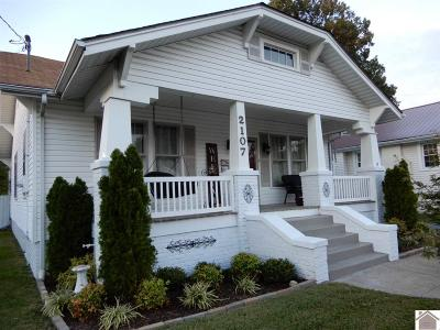 Paducah Single Family Home Contract Recd - See Rmrks: 2107 Jackson St