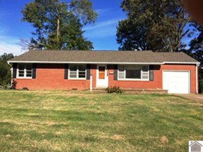 Paducah Single Family Home For Sale: 2433 Harrison Street