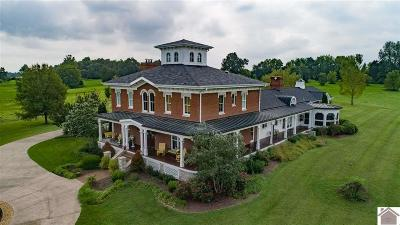 Princeton KY Single Family Home For Sale: $2,495,000