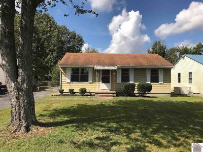 McCracken County Single Family Home Contract Recd - See Rmrks: 3119 Schneidman Rd
