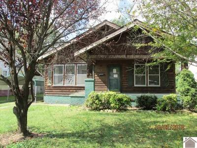 McCracken County Single Family Home Contract Recd - See Rmrks: 815 N 22nd St