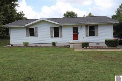 Paducah Single Family Home Contract Recd - See Rmrks: 5810 Oakhaven