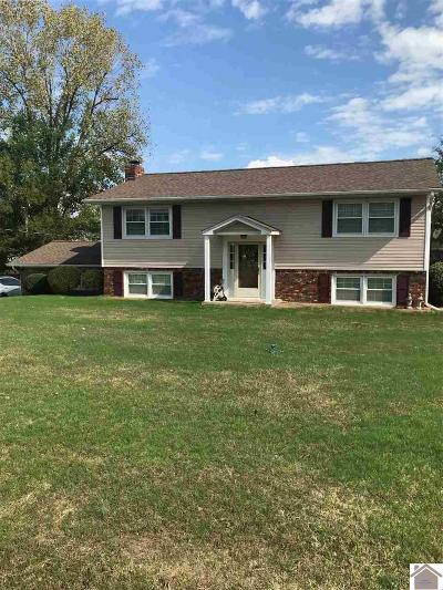 Paducah Single Family Home For Sale: 6049 Merrydale