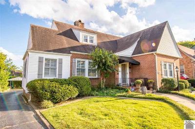 Paducah Single Family Home Contract Recd - See Rmrks: 3412 Buckner Lane