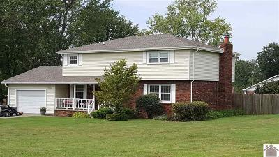 Paducah Single Family Home For Sale: 5726 Harris Road
