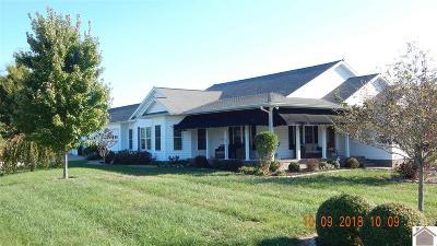 Benton Single Family Home For Sale: 603 Eagle Lake Drive