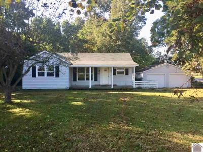 Paducah Single Family Home For Sale: 1310 Lovelaceville Florence Station West