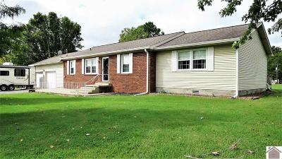 Cadiz KY Single Family Home For Sale: $123,900