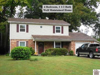 Paducah Single Family Home For Sale: 2319 Laclede