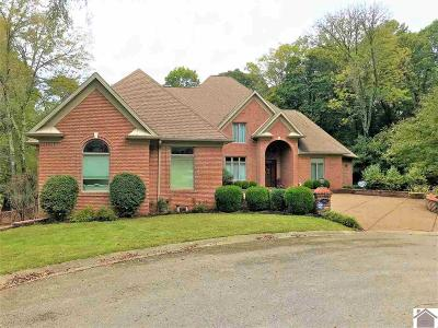 Lyon County, Trigg County Single Family Home For Sale: 388 Sequoyah Trail