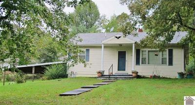 Princeton, Eddyville, Kuttawa, Cadiz Single Family Home For Sale: 66 St Rt 810 N