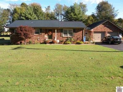 Princeton Single Family Home For Sale: 10642 Marion Road