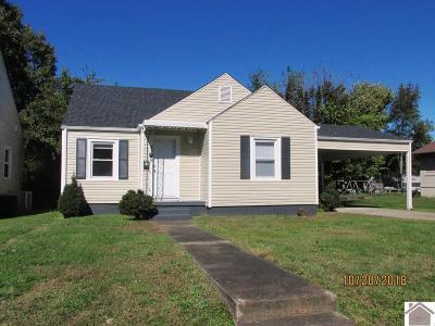 Paducah Single Family Home Contract Recd - See Rmrks: 2305 Monroe