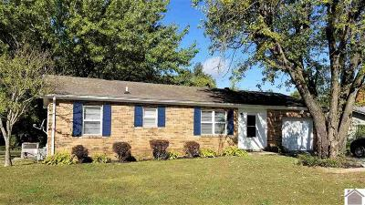 Calvert City KY Single Family Home For Sale: $69,900