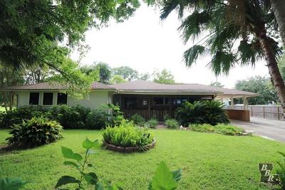 Golden Meadow Single Family Home For Sale: 2502 S Bayou Drive