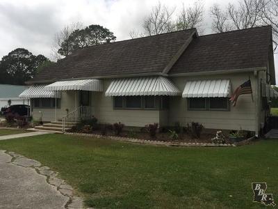 Houma Single Family Home For Sale: 5082 W Main Street