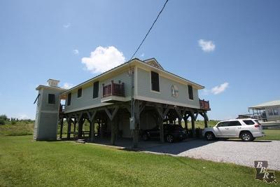 Grand Isle, Fourchon Single Family Home For Sale: 2258 Highway 1