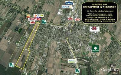 Terrebonne Parish, Lafourche Parish Residential Lots & Land For Sale: Highway 3185