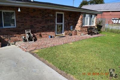Houma Single Family Home For Sale: 116 Wolfe Parkway