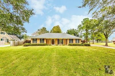 Houma Single Family Home For Sale: 1728 Savanne Road