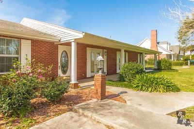 Raceland Single Family Home Under Contract: 4202 La Hwy 1