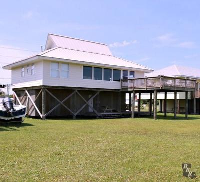Grand Isle, Fourchon Single Family Home For Sale: 3354 Highway 1