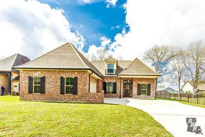 Houma Single Family Home For Sale: 1308 Compton Place