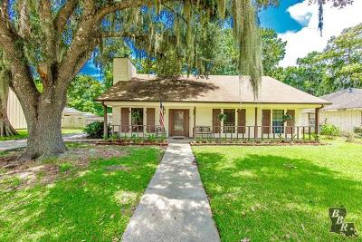 Houma Single Family Home For Sale: 128 Piping Rock Drive